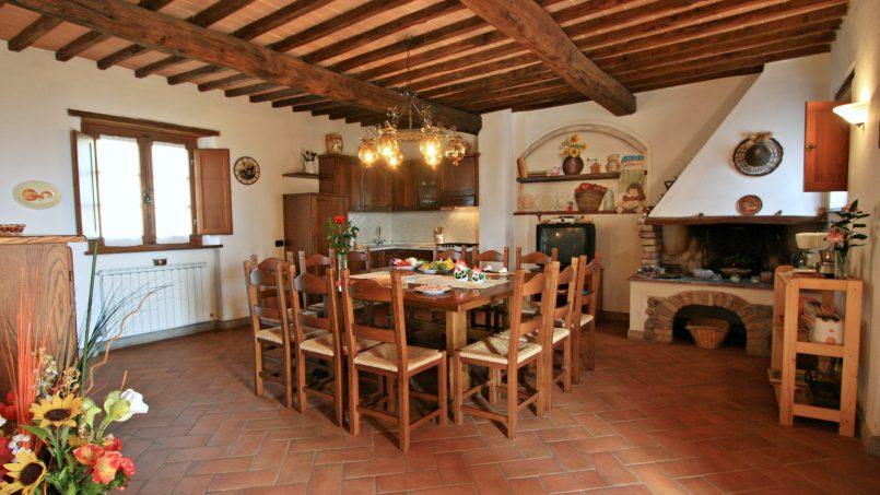 Farmhouse le campore tuscany siena 12