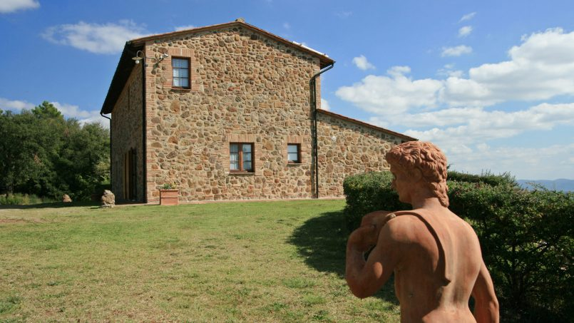 Farmhouse le campore tuscany siena 2