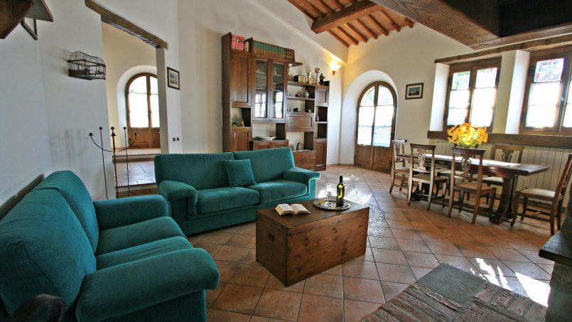 Farmhouse villa Camilla Tuscany Siena 22