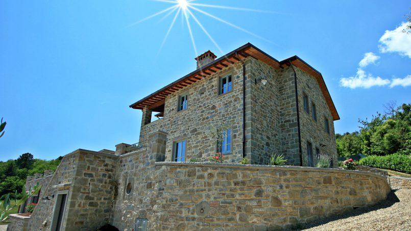 Stone villa Casa Bianca Tuscany Arezzo 3A