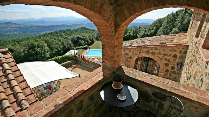 Farmhouse le campore tuscany siena 5