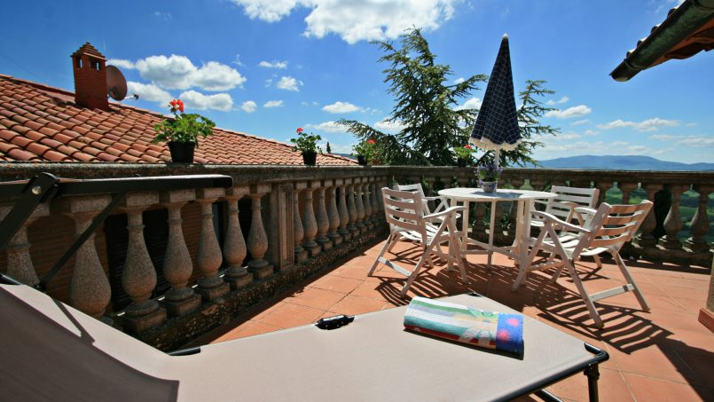Village house Casa Lilia Tuscany Siena 11
