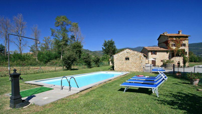 Hillside Villa Torre Montalla Tuscany Cortona