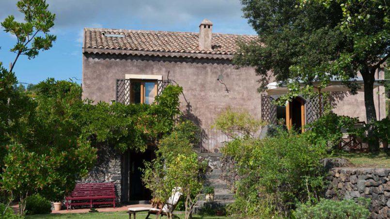 Country house Palmento Monterosso Sicily Catania 1