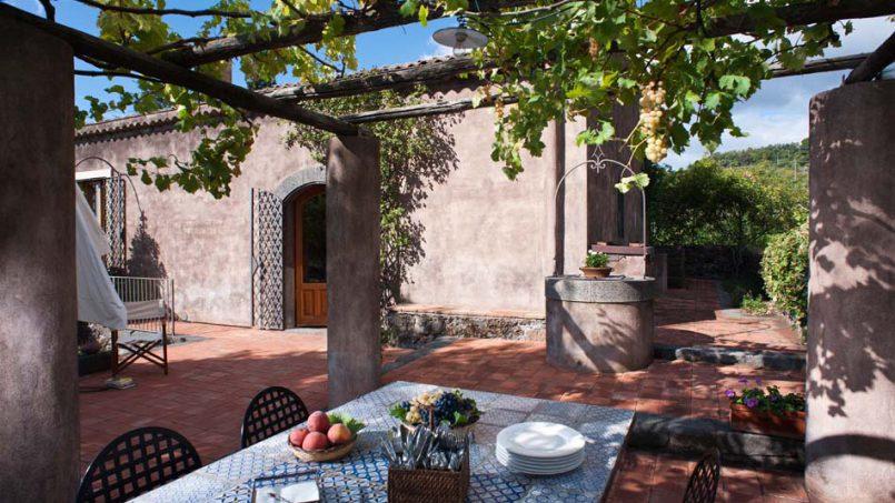 Country house Palmento Monterosso Sicily Catania 5