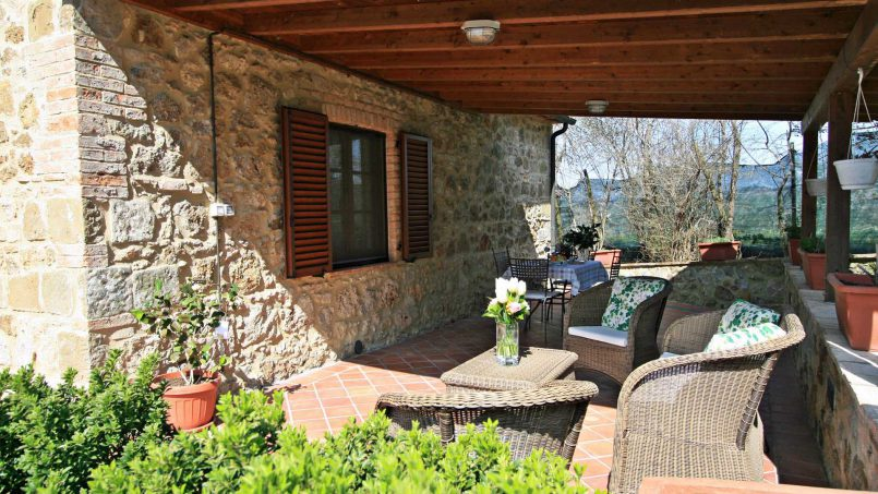 Stone cottage Graziosa Tuscany Siena 16