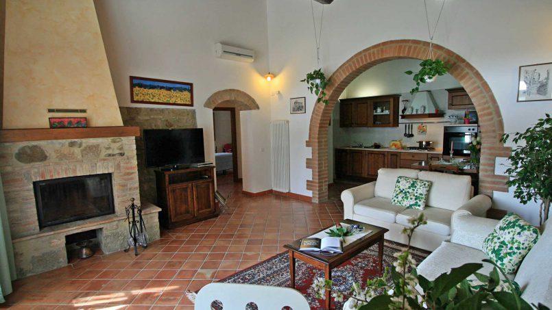 Stone cottage Graziosa Tuscany Siena 27