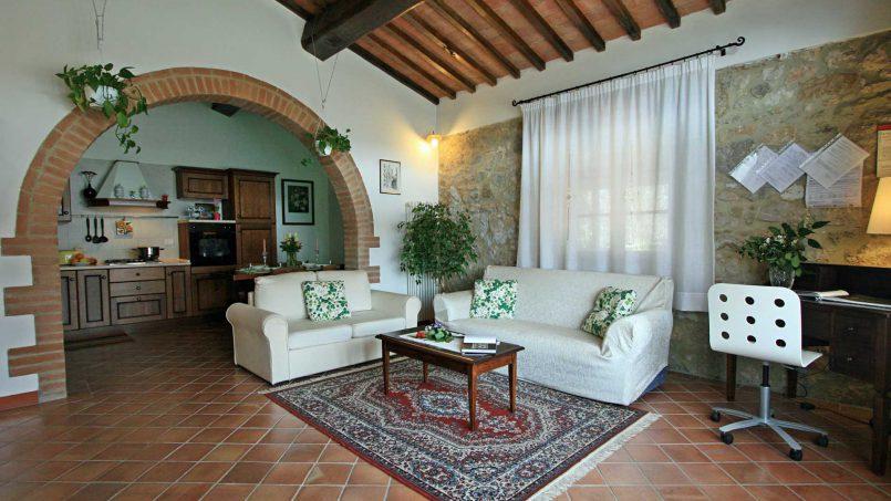 Stone cottage Graziosa Tuscany Siena 28