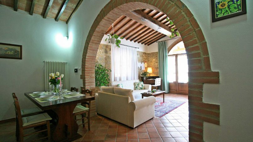 Stone cottage Graziosa Tuscany Siena 29