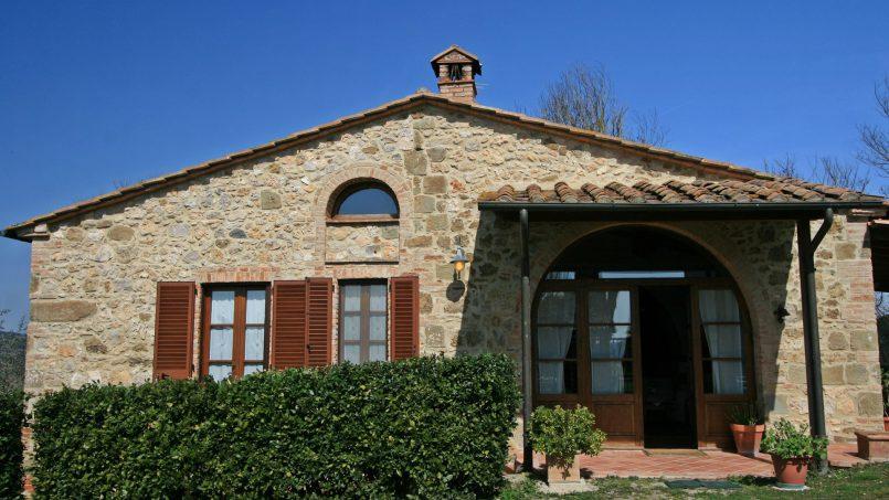Stone cottage Graziosa Tuscany Siena 3