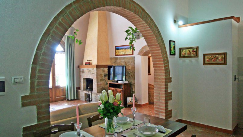 Stone cottage Graziosa Tuscany Siena 30