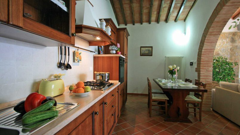 Stone cottage Graziosa Tuscany Siena 31