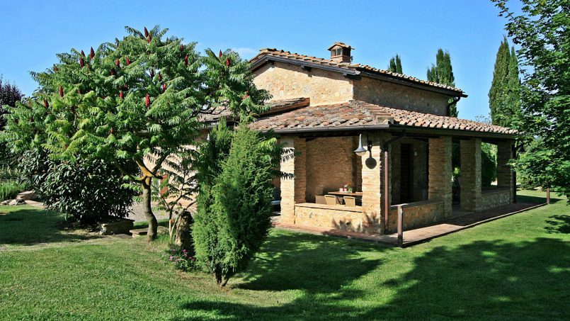 Ancient stone barn Girasole Tuscany Monteriggioni 12
