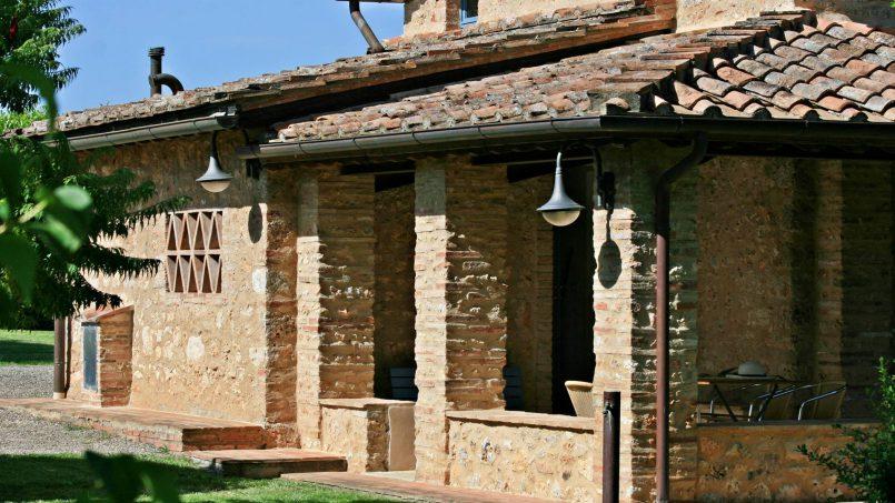 Ancient stone barn Girasole Tuscany Monteriggioni 13