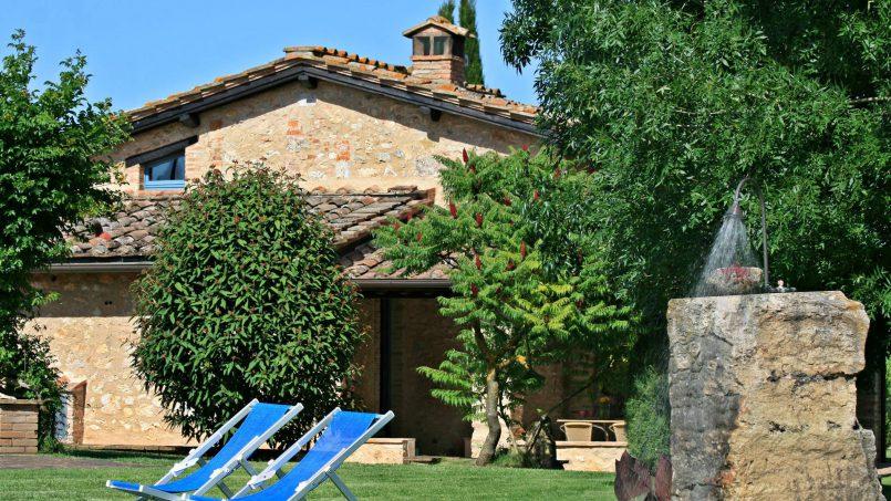 Ancient stone barn Girasole Tuscany Monteriggioni 9