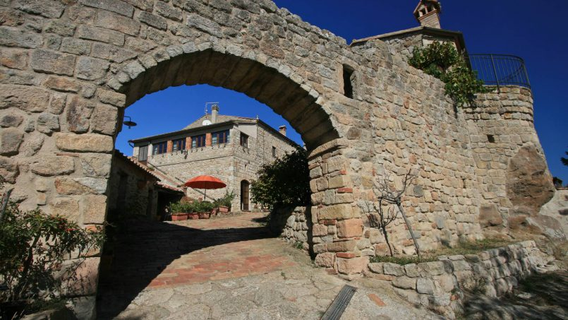 Ancient medieval castle Casteltramonto Tuscany Roccastrada 29