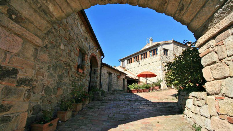 Ancient medieval castle Casteltramonto Tuscany Roccastrada 30
