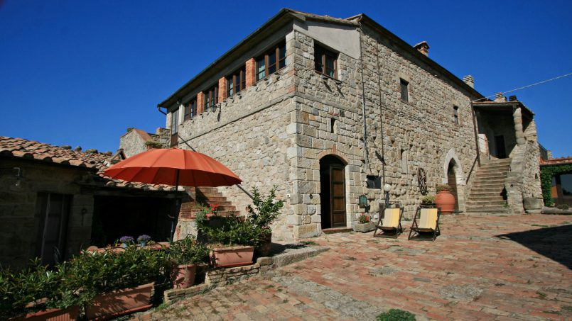 Ancient medieval castle Casteltramonto Tuscany Roccastrada 33