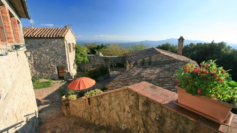 Ancient medieval castle Casteltramonto Tuscany Roccastrada 39