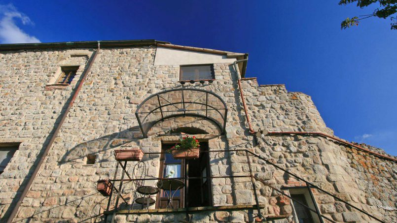 Ancient medieval castle Casteltramonto Tuscany Roccastrada 40