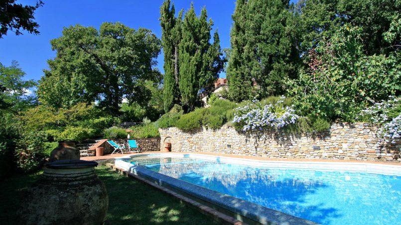 Cottage stone Bel Sole Tuscany Siena 1