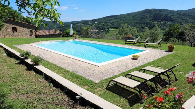 Farmhouse La Madonna Tuscany Radicondoli 101a
