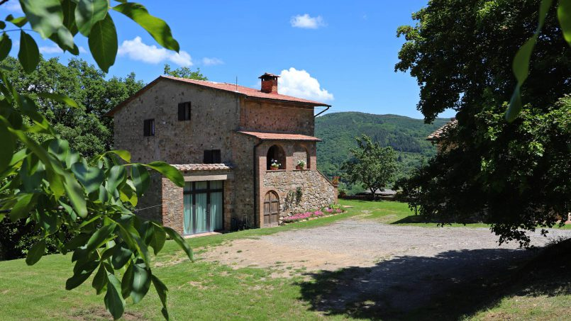 Farmhouse La Madonna Tuscany Radicondoli 110a