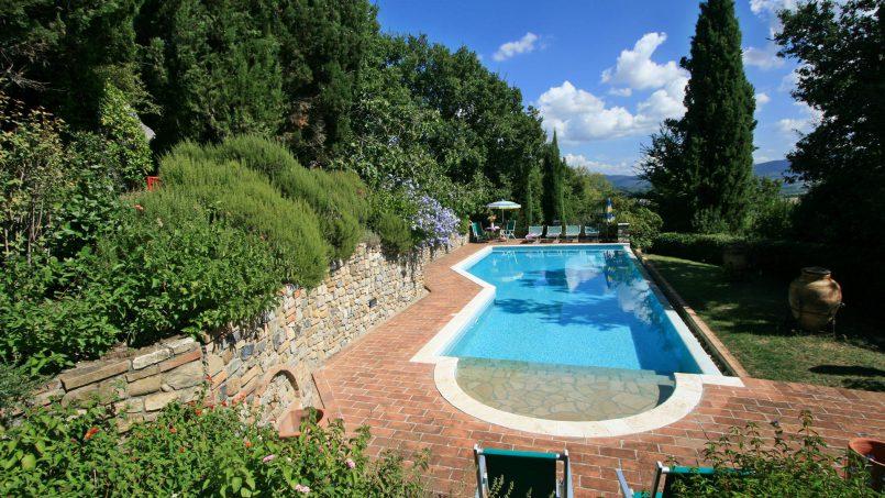 Cottage stone Bel Sole Tuscany Siena 12