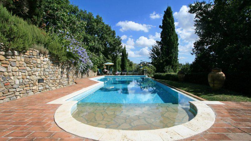 Cottage stone Bel Sole Tuscany Siena 13