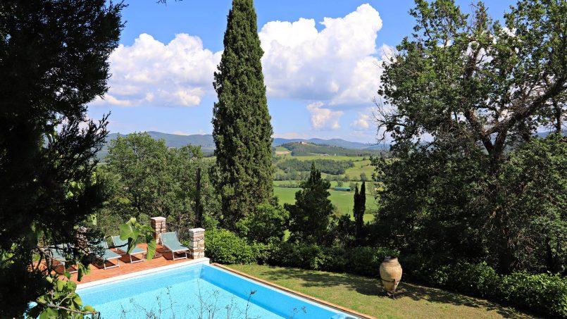 Cottage stone Bel Sole Tuscany Siena 14