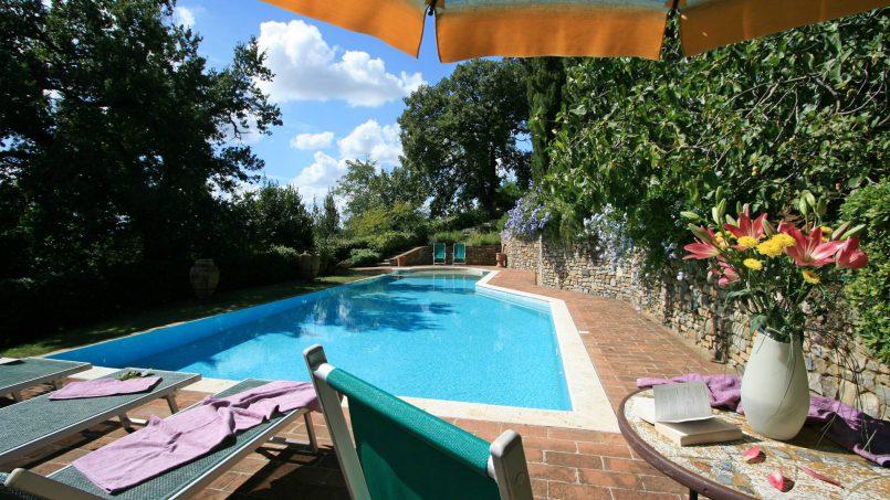 Cottage stone Bel Sole Tuscany Siena 17