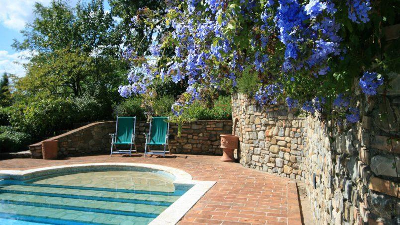 Cottage stone Bel Sole Tuscany Siena 18
