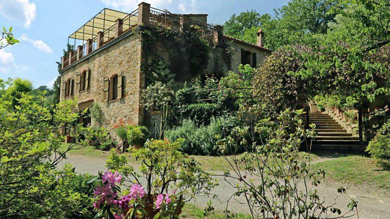 Cottage stone Bel Sole Tuscany Siena 2