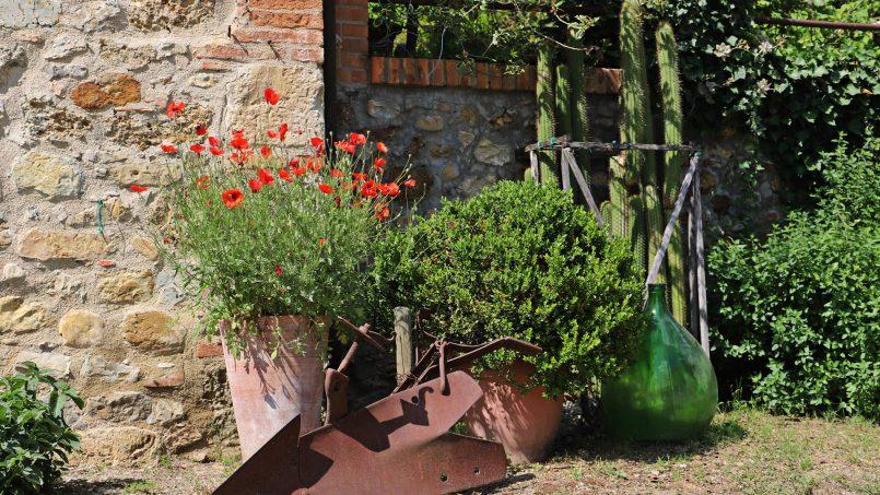 Cottage stone Bel Sole Tuscany Siena 22