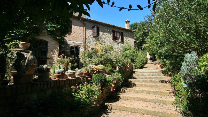 Cottage stone Bel Sole Tuscany Siena 3
