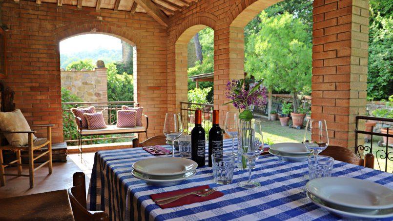 Cottage stone Bel Sole Tuscany Siena 33