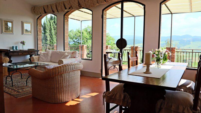 Cottage stone Bel Sole Tuscany Siena 34