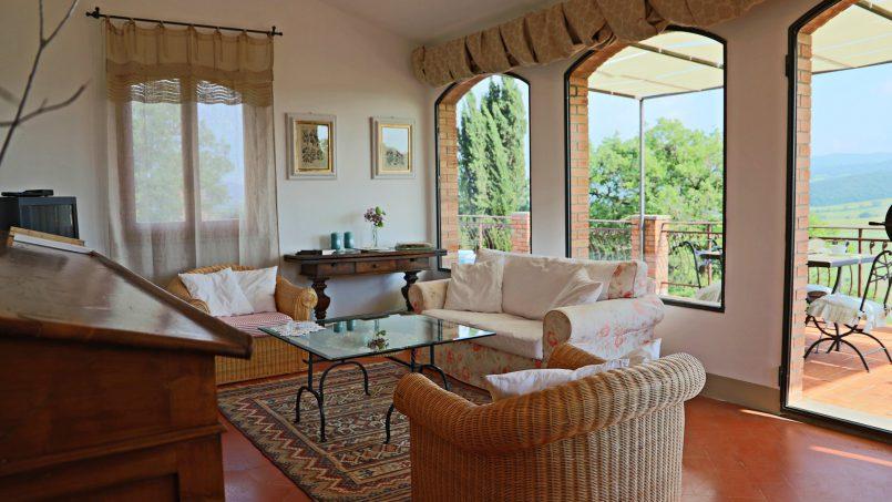 Cottage stone Bel Sole Tuscany Siena 35