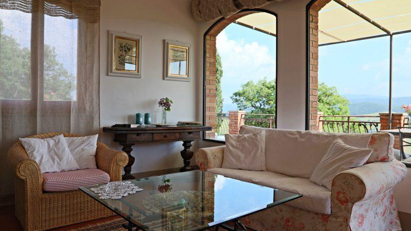 Cottage stone Bel Sole Tuscany Siena 37