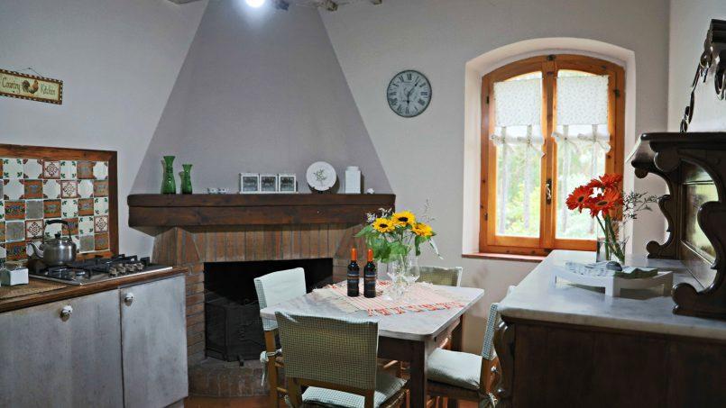 Cottage stone Bel Sole Tuscany Siena 40