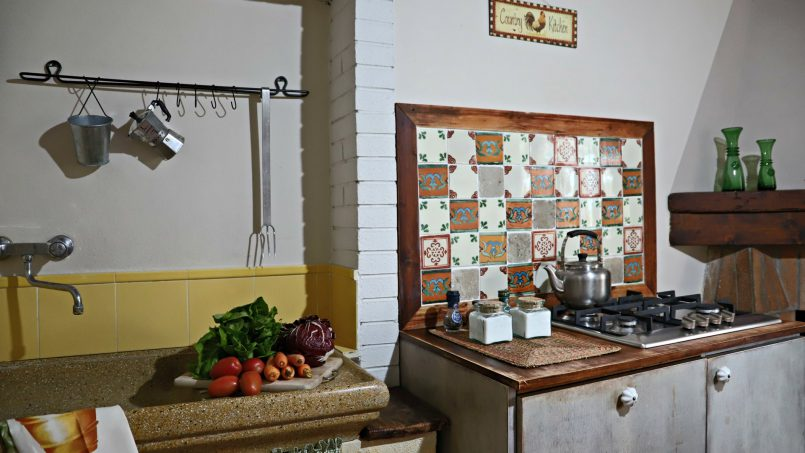 Cottage stone Bel Sole Tuscany Siena 41