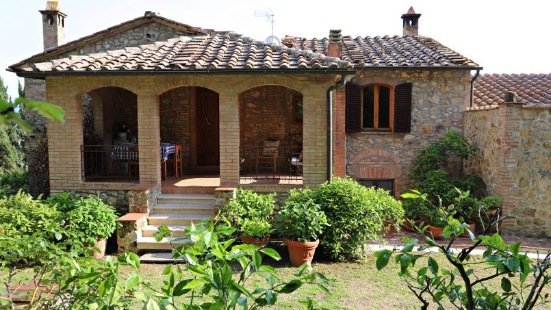 Cottage stone Bel Sole Tuscany Siena 7