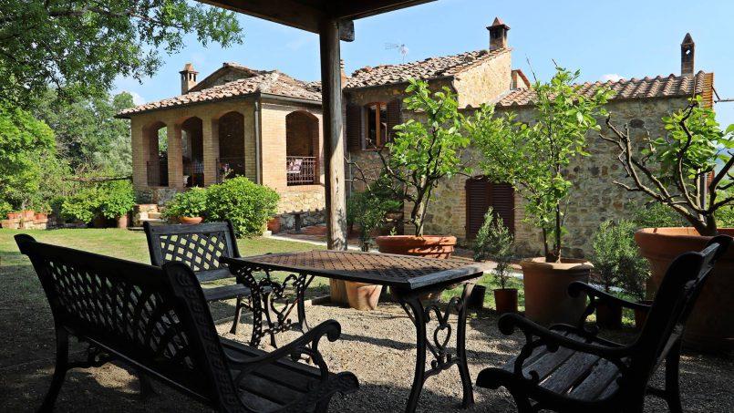 Cottage stone Bel Sole Tuscany Siena 8