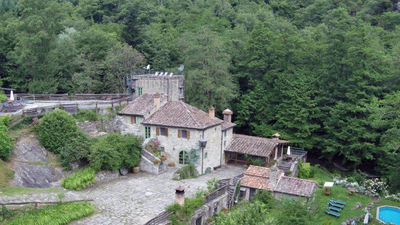 Former mill Verdevalle Tuscany Talla 1