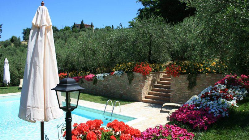 Stone built house Brunello Tuscany Siena 10
