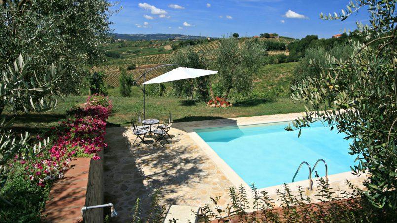 Stone built house Brunello Tuscany Siena 15
