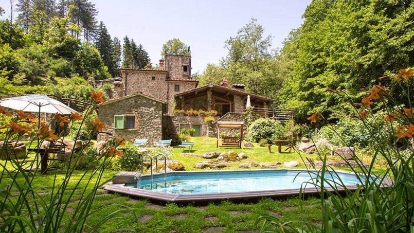 Former mill Verdevalle Tuscany Talla 17