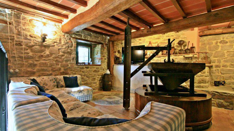Former mill Verdevalle Tuscany Talla 25