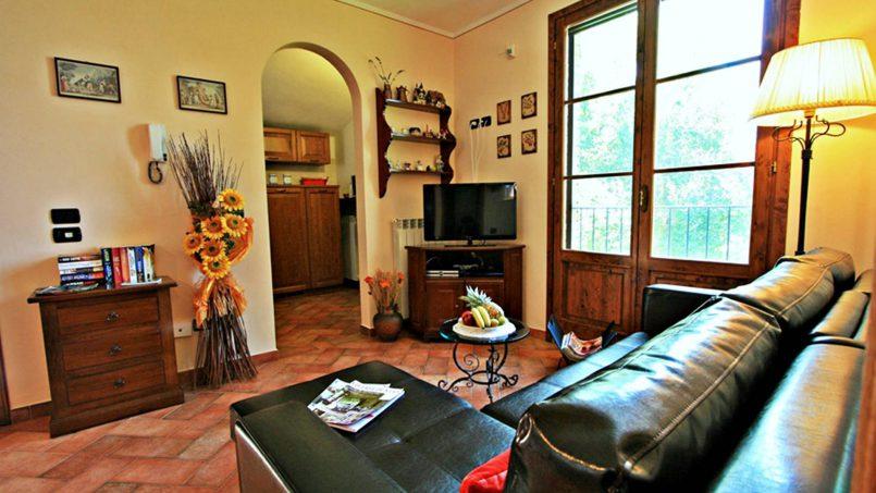 Stone built house Brunello Tuscany Siena 28