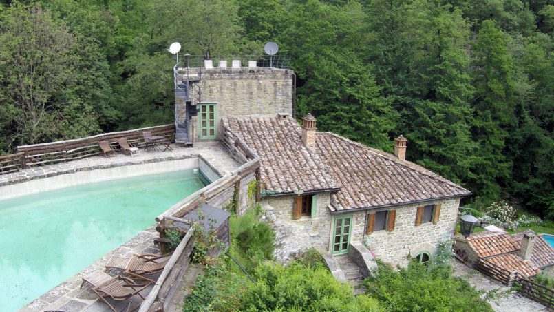 Former mill Verdevalle Tuscany Talla 3